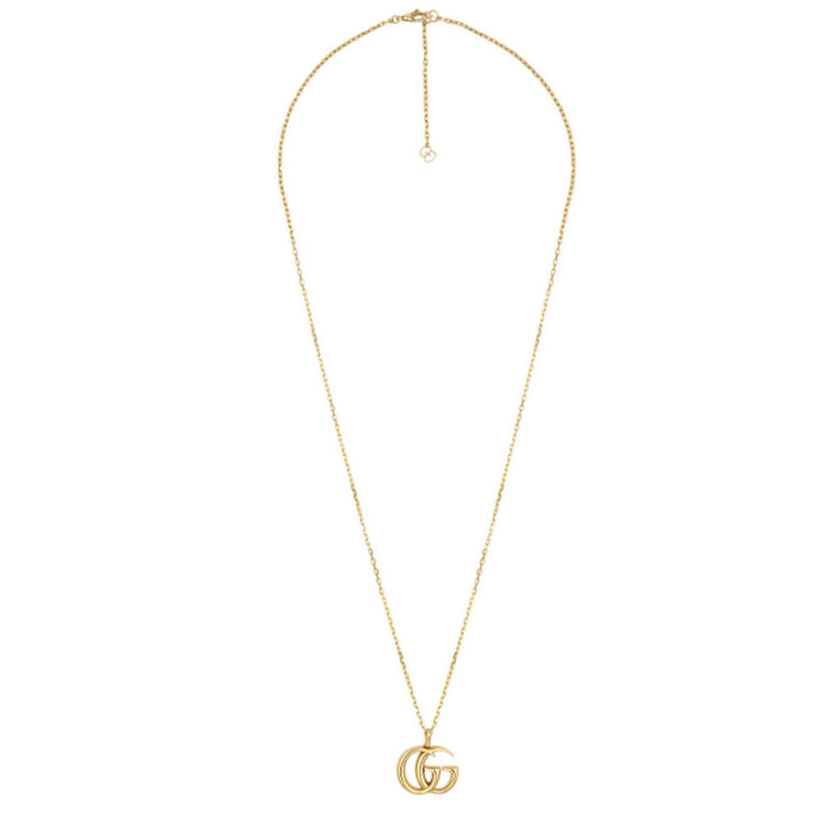Gucci Running G 18k Yellow Gold Necklace