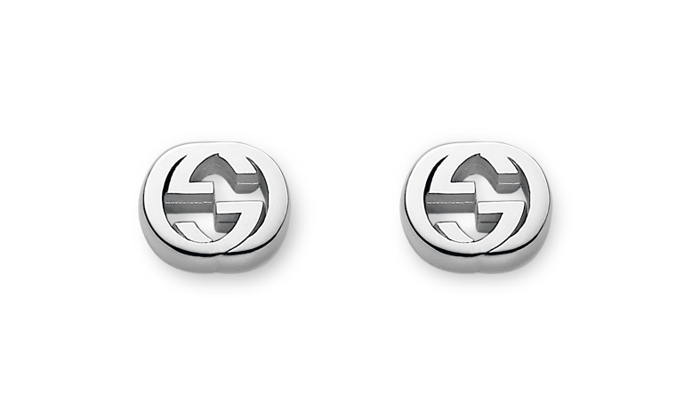 Gucci Trademark Stud Earrings