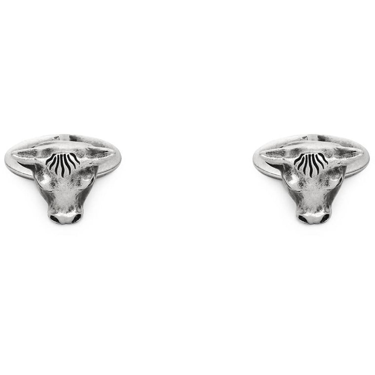 Gucci Angry Forest Bull Cufflinks