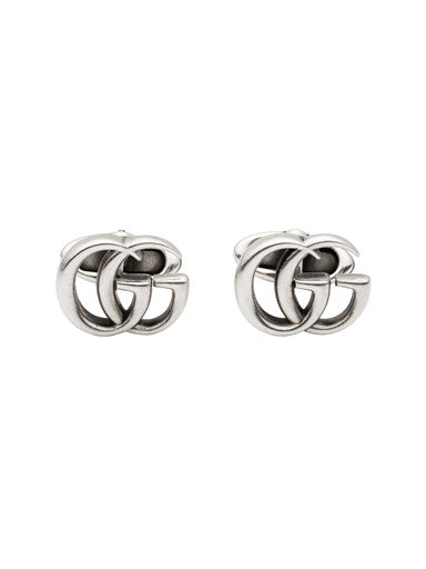 Gucci Double G Sterling Silver Cufflinks