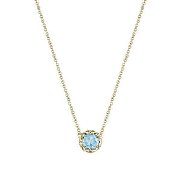 Tacori Sky Blue Topaz Station Necklace