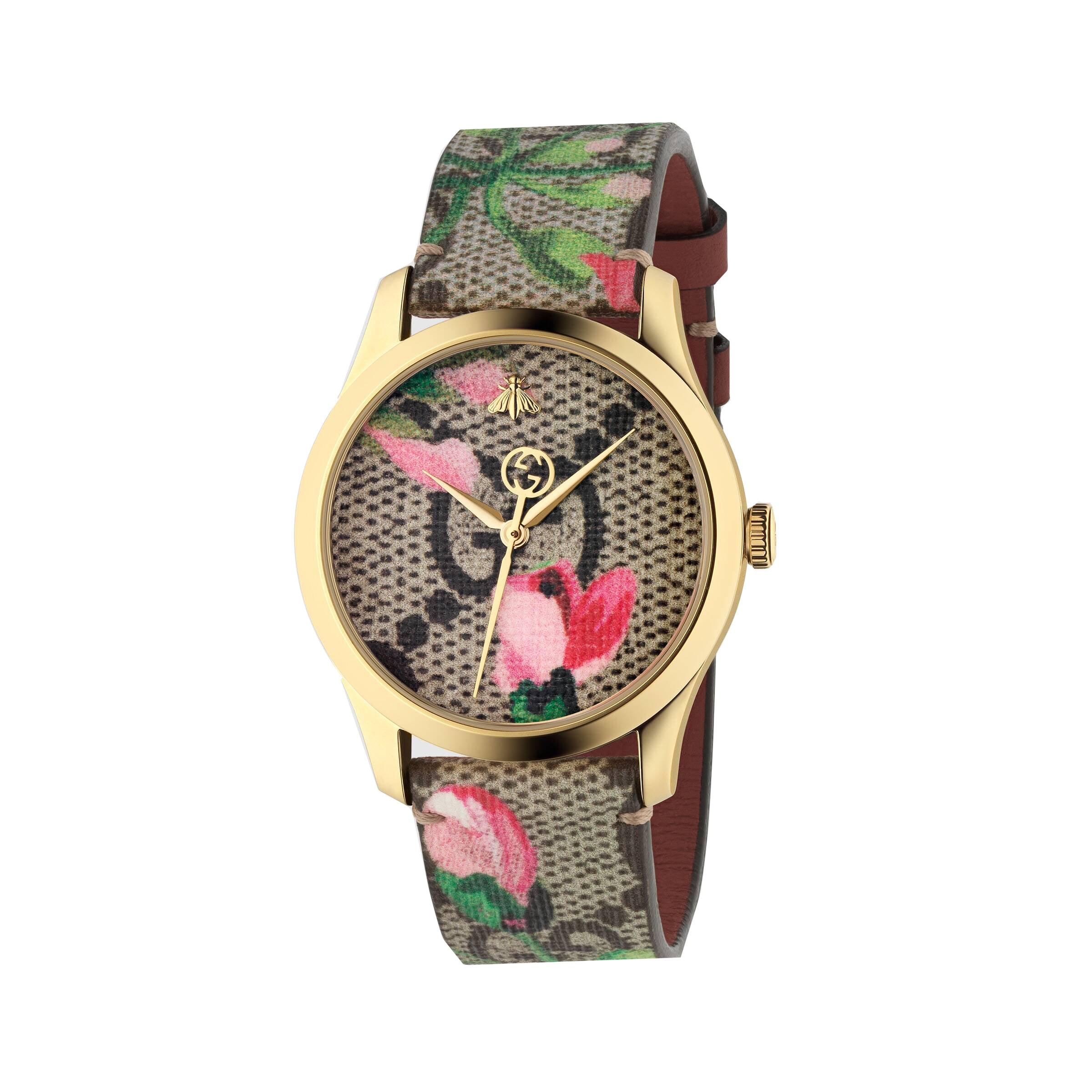 Gucci G-Timeless Blooms Watch