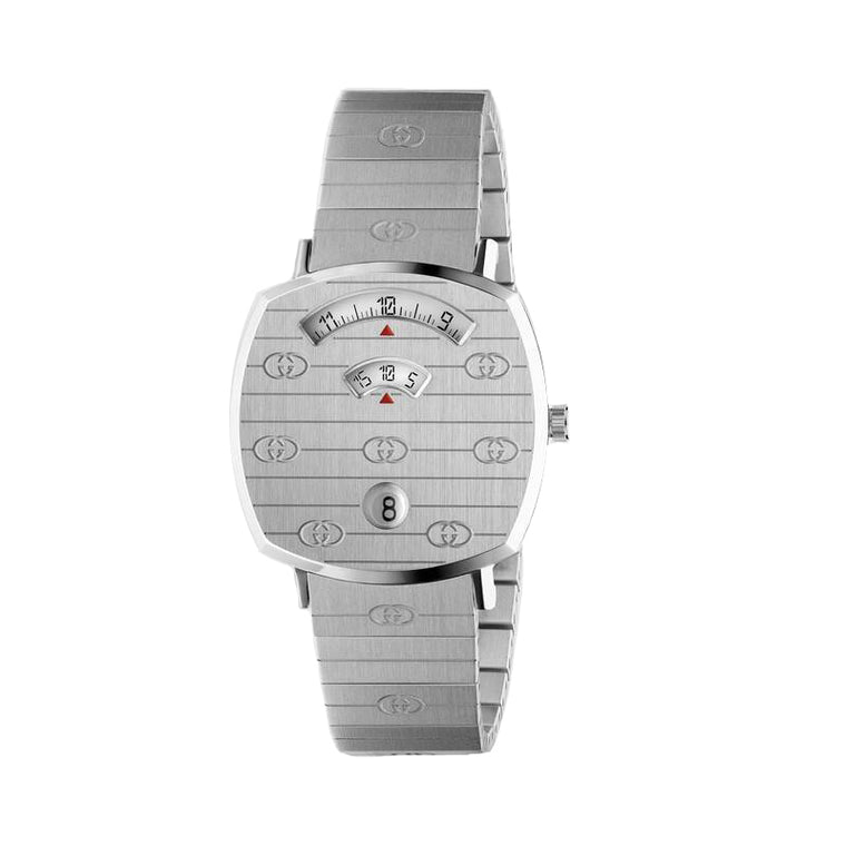 Gucci Grip Stainless Steel Watch