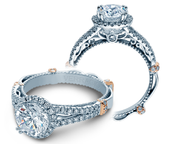 Verragio Parisian DL-107R Engagement Ring