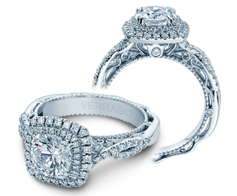Verragio Venetian 5048CU Engagement Ring