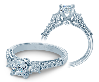 Verragio Renaissance 940P55 Engagement Ring