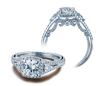 Verragio Insignia 7068CU Engagement Ring