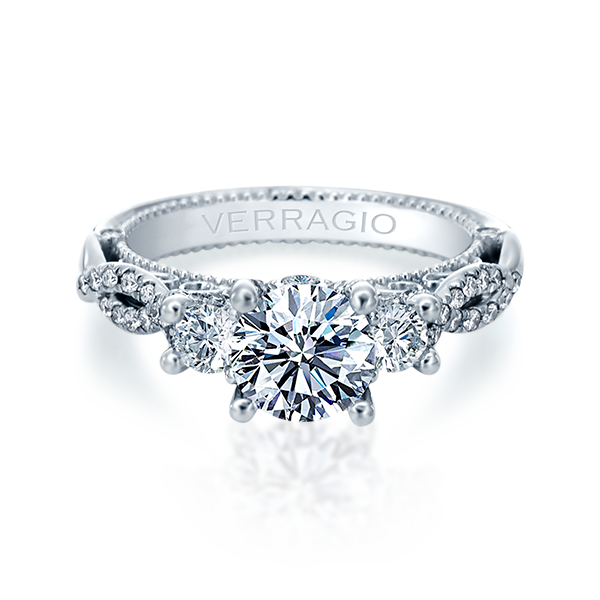 Verragio Venetian-5079R Engagement Ring in White Gold
