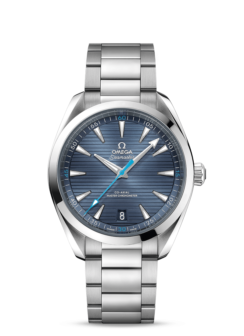 Omega 'Seamaster Aqua Terra 150M' 41mm Watch with Blue Dial
