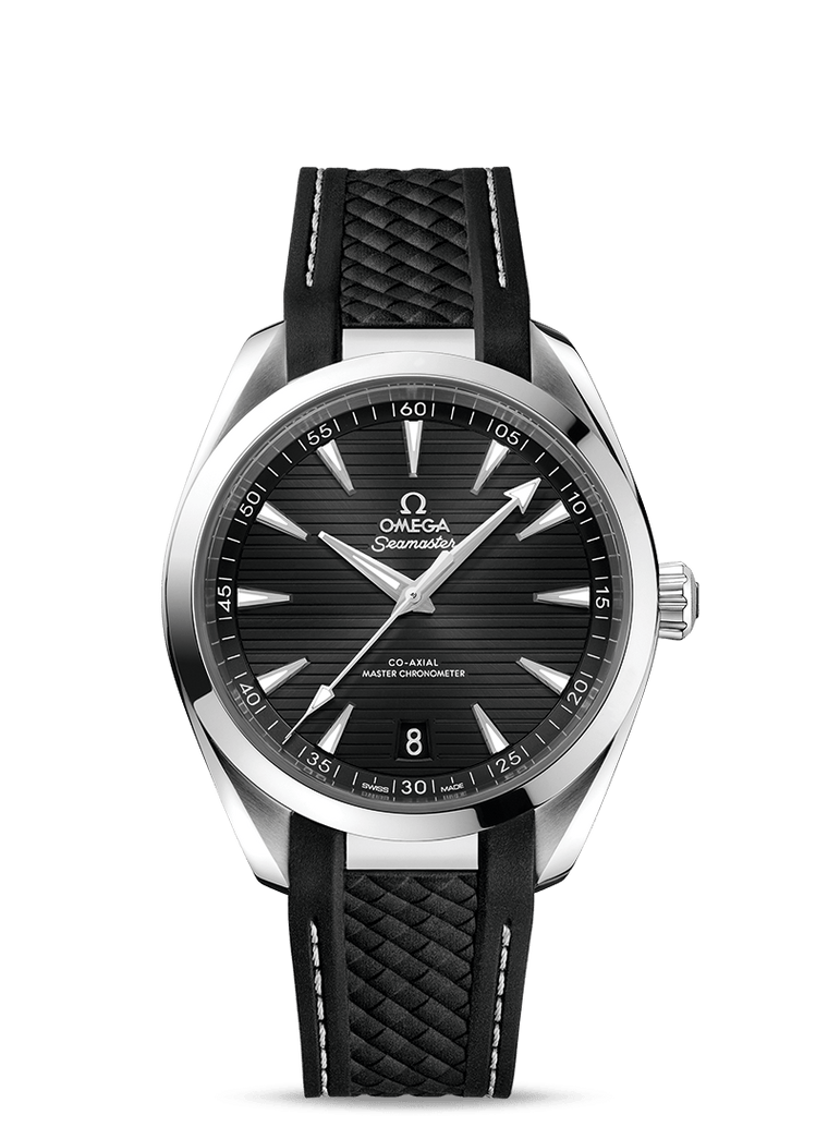Omega 'Seamaster Aqua Terra 150M' 41mm Watch with Black Dial