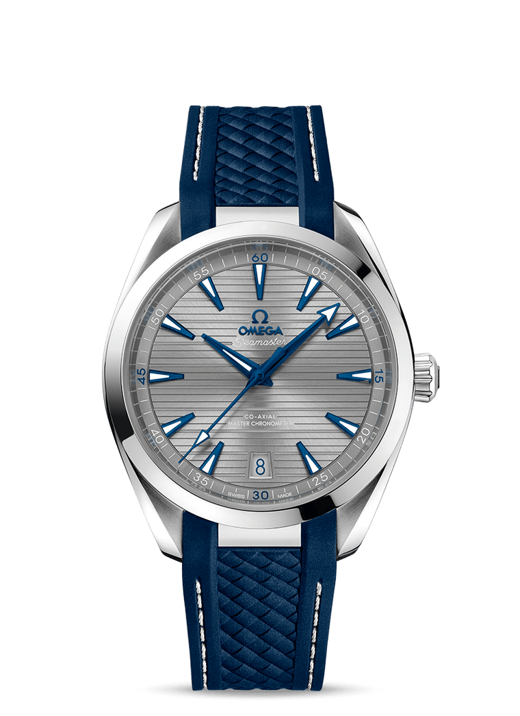 Omega 'Seamaster Aqua Terra 150M' 41mm Watch with Silver Dial