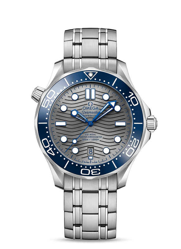 Omega Seamaster Diver 300M 42mm Watch with Grey Dial