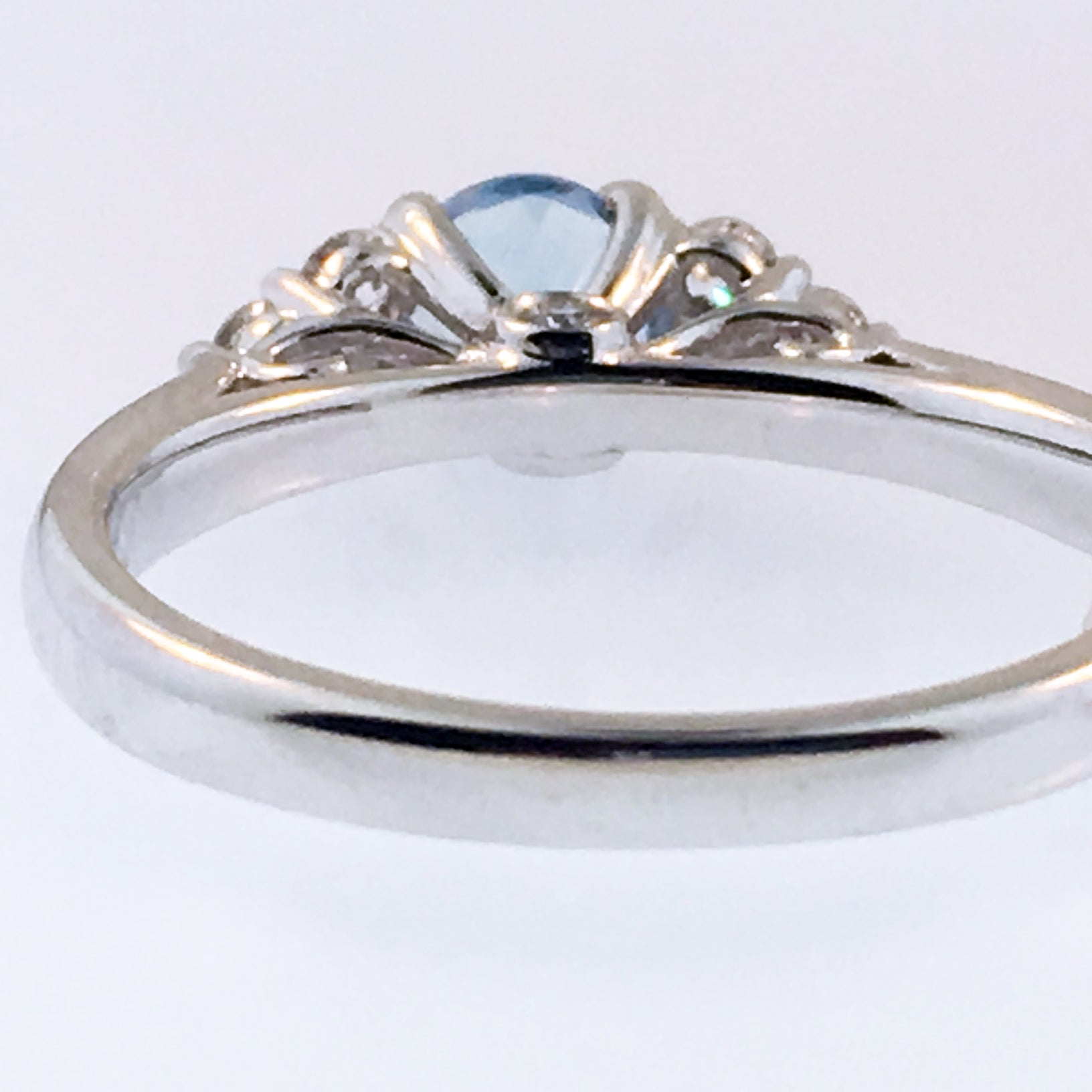 Ring Sizing: Down Size 18k Gold 3mm band width or thinner