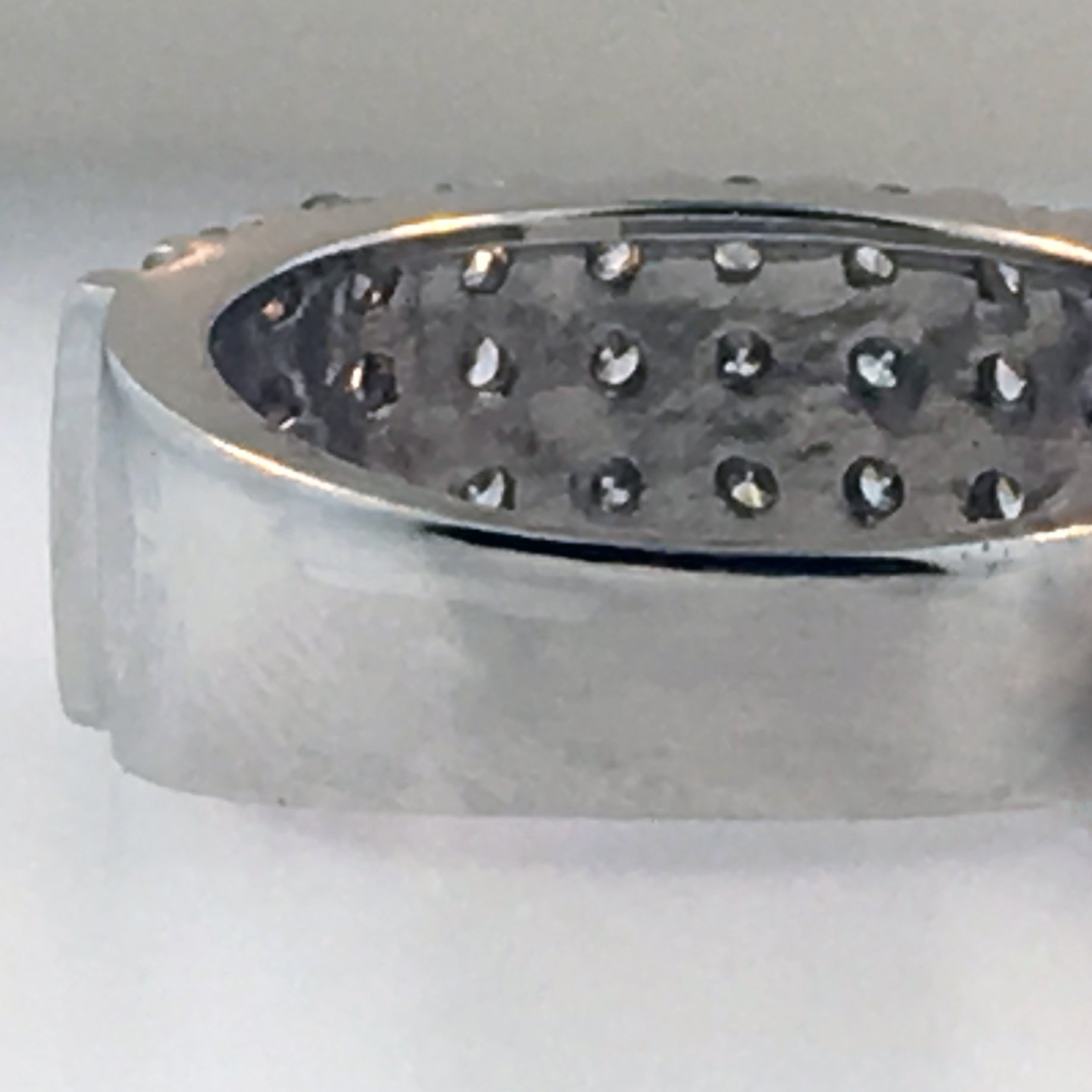Ring Sizing: Up Size Platinum 3-5mm band width