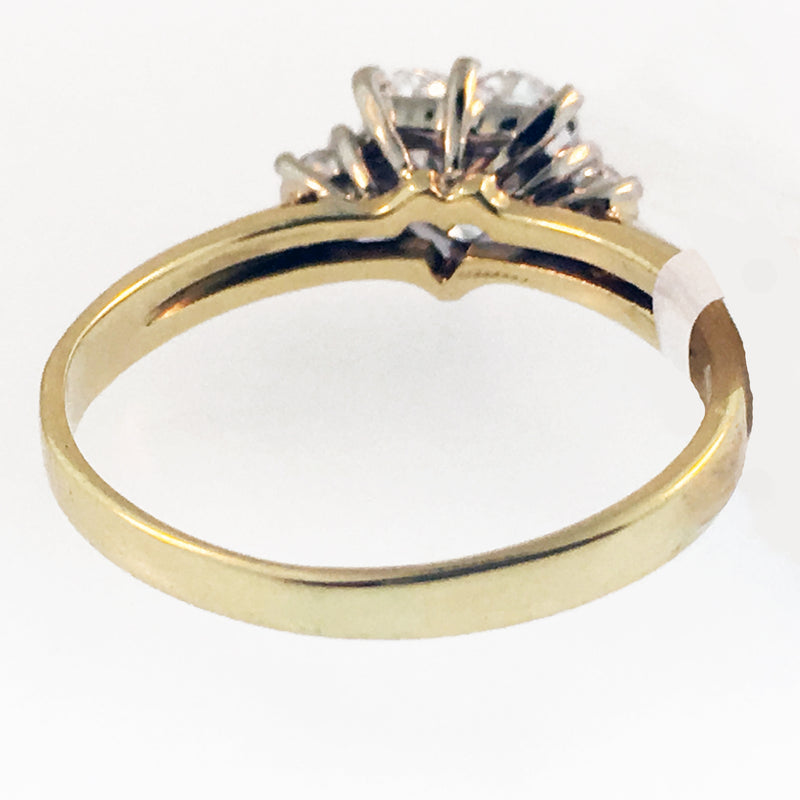 Ring Sizing: Up Size 18k Gold 3mm band width or thinner
