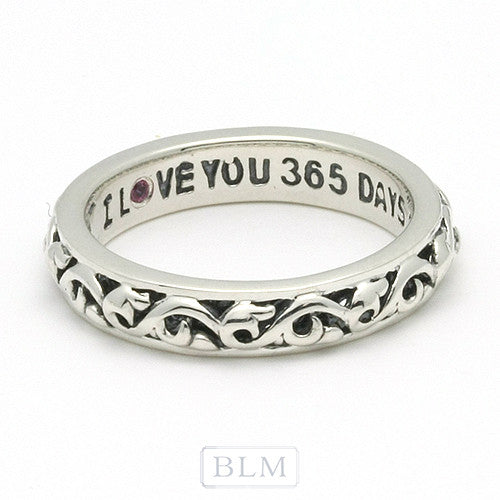 "Charles Krypell ""I love you 365 Days a Year"" Necklace"