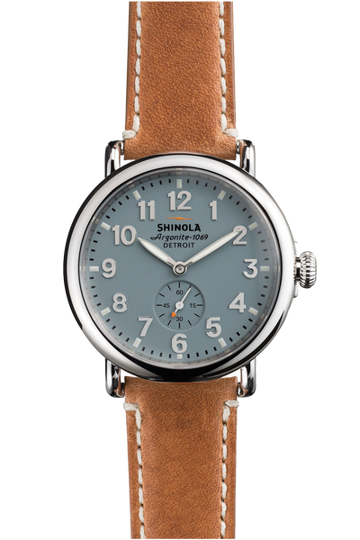 Shinola Runwell 41mm Watch with Slate Grey Dial