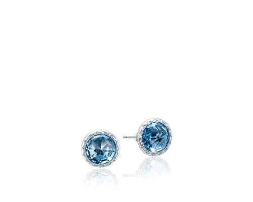 Tacori 'Island Rains' London Blue Topaz Bezel Studs