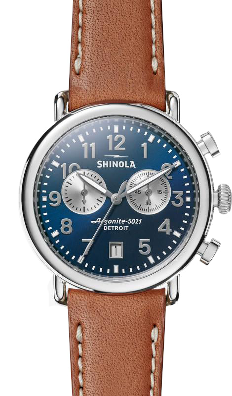 Shinola Runwell Chrono 41mm Midnight Blue Watch