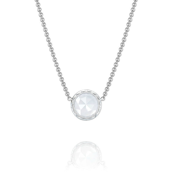 Tacori 'Classic Rock' Chalcedony Floating Bezel Necklace