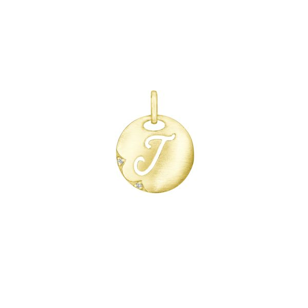 Tacori 14k Yellow Gold 'Love Letters' Charm