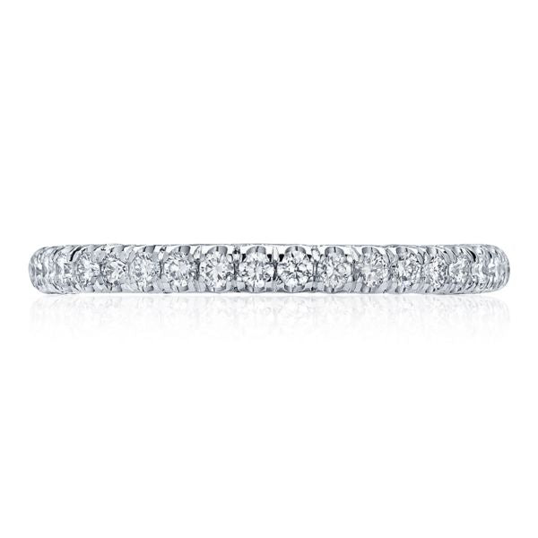 Tacori 2545 Petite Crescent 18k White Gold Wedding Band