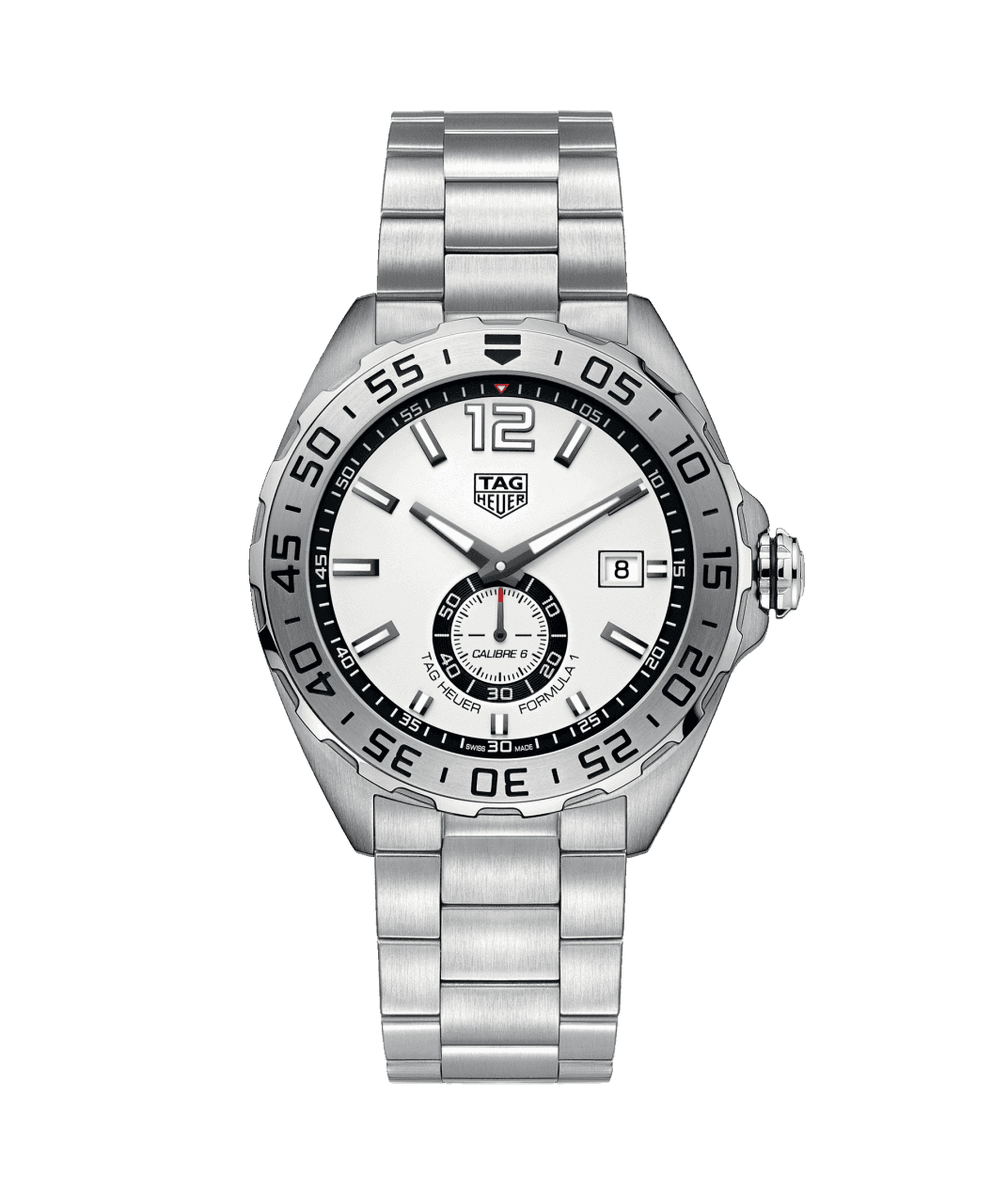 TAG Heuer Formula 1 43mm Watch with White Dial