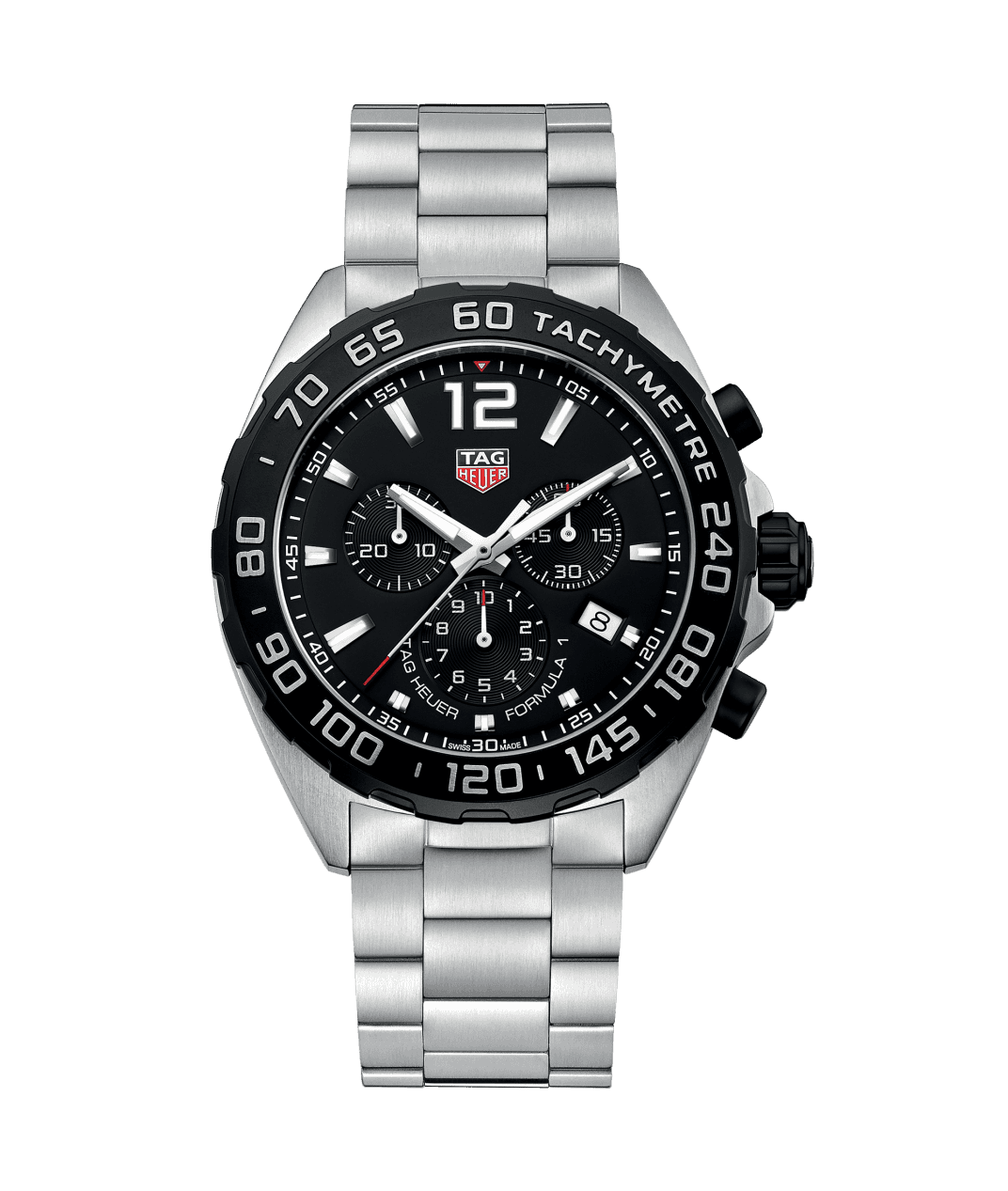 TAG Heuer 'Formula 1' 43mm Watch with Black Dial