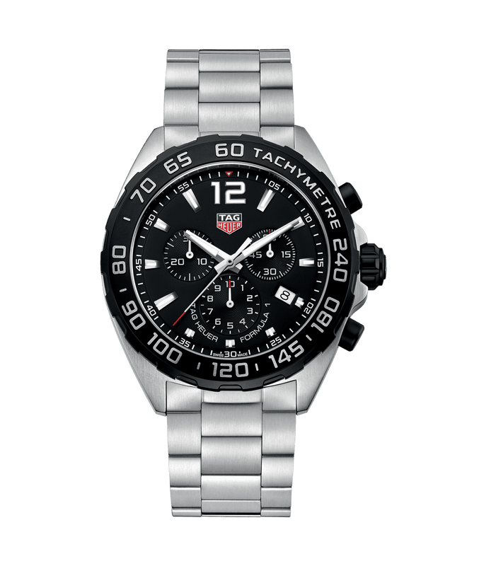 TAG Heuer Formula 1 43mm Watch with Black Dial