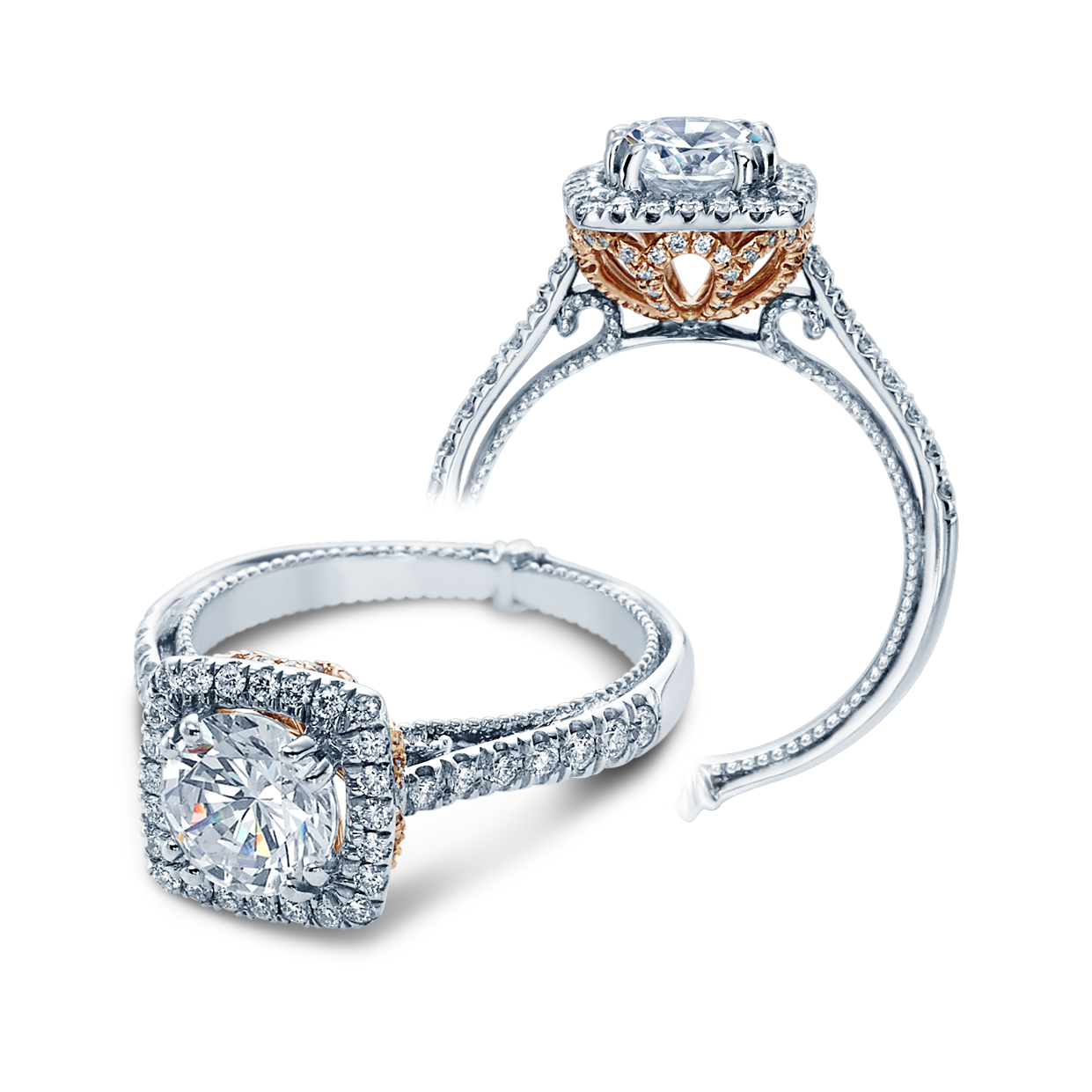 Verragio Couture 0433CU-TT Engagement Ring