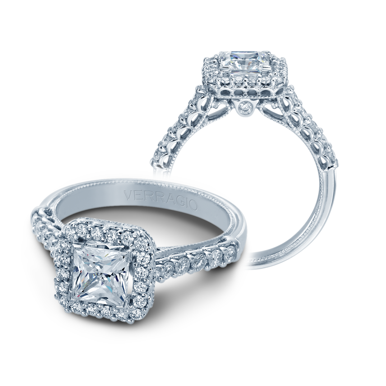 Verragio Classic-903-P5.5 Engagement Ring