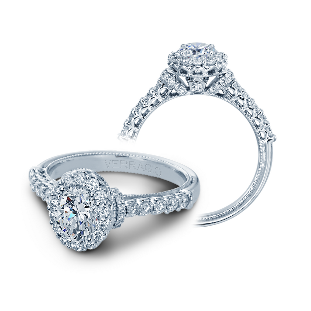 Verragio Classic-908-OV7X5 Engagement Ring
