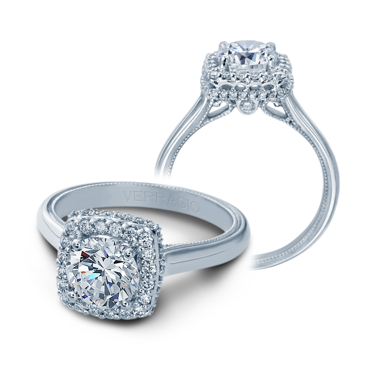 Verragio Classic-927-CU7 Engagement Ring