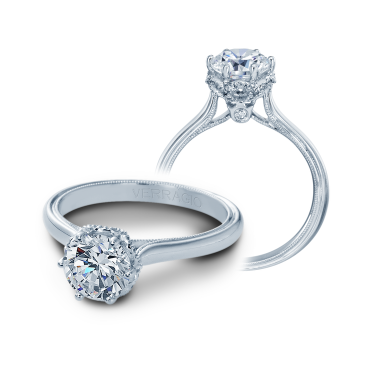 Verragio Classic-939R7 Engagement Ring