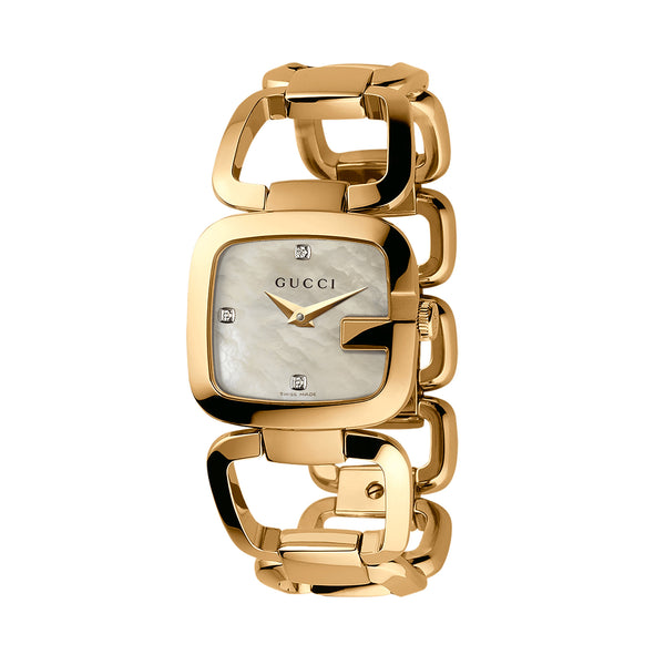 G-Gucci Yellow Gold PVD Watch