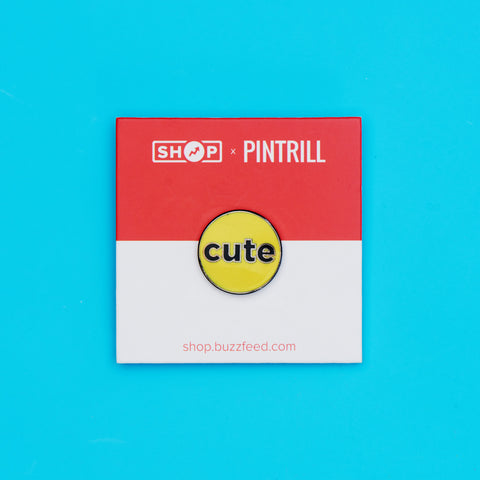 BuzzFeed x Pintrill Cute Enamel Pin