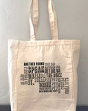 Another Round Motto Tote Bag