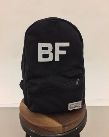 BuzzFeed x Stone & Cloth Custom Backpack