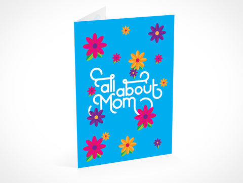 All About Mom Greeting Card