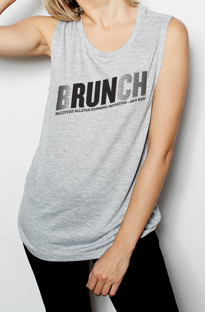 BuzzFeed Brunch Muscle Tank