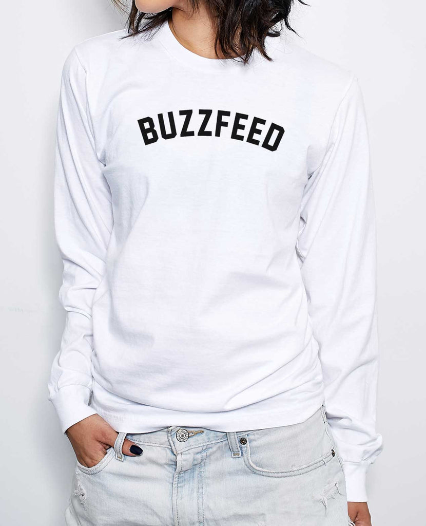 BuzzFeed Collegiate Long-Sleeve T-Shirt