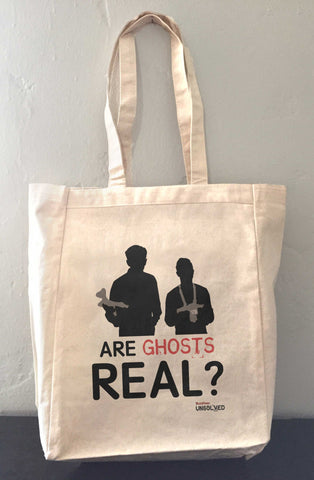 BuzzFeed Unsolved Are Ghosts Real? Tote Bag
