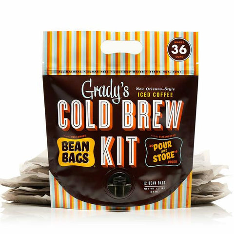 Grady's Cold Brew Pour and Store Pouch