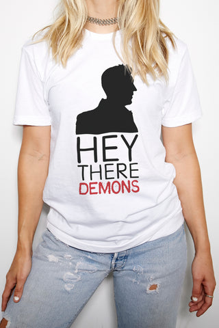 BuzzFeed Unsolved Hey There Demons Crew Neck T-Shirt