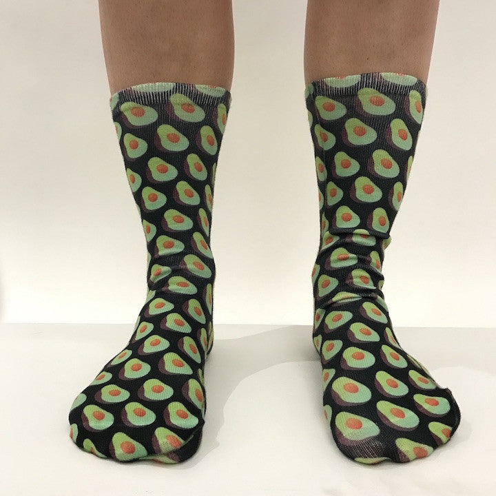 BuzzFeed x Living Royal Avocado Socks