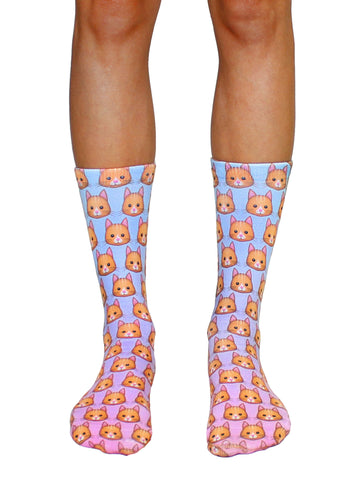 BuzzFeed x Living Royal Kitten Socks
