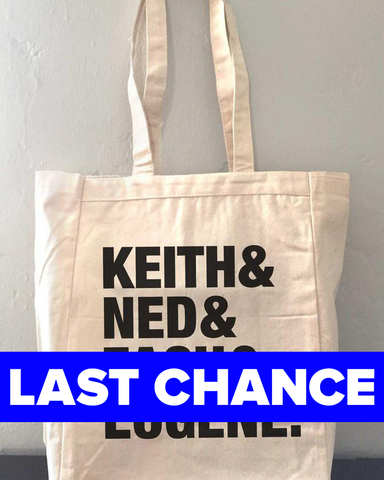 The Try Guys Keith & Ned & Zach & Eugene Tote Bag
