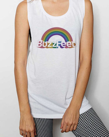 BuzzFeed Pride 2017 Muscle Tank