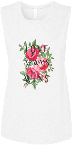 Love Always Wins Muscle Tank