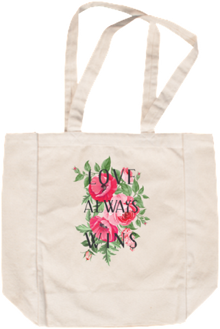 Love Always Wins Tote Bag